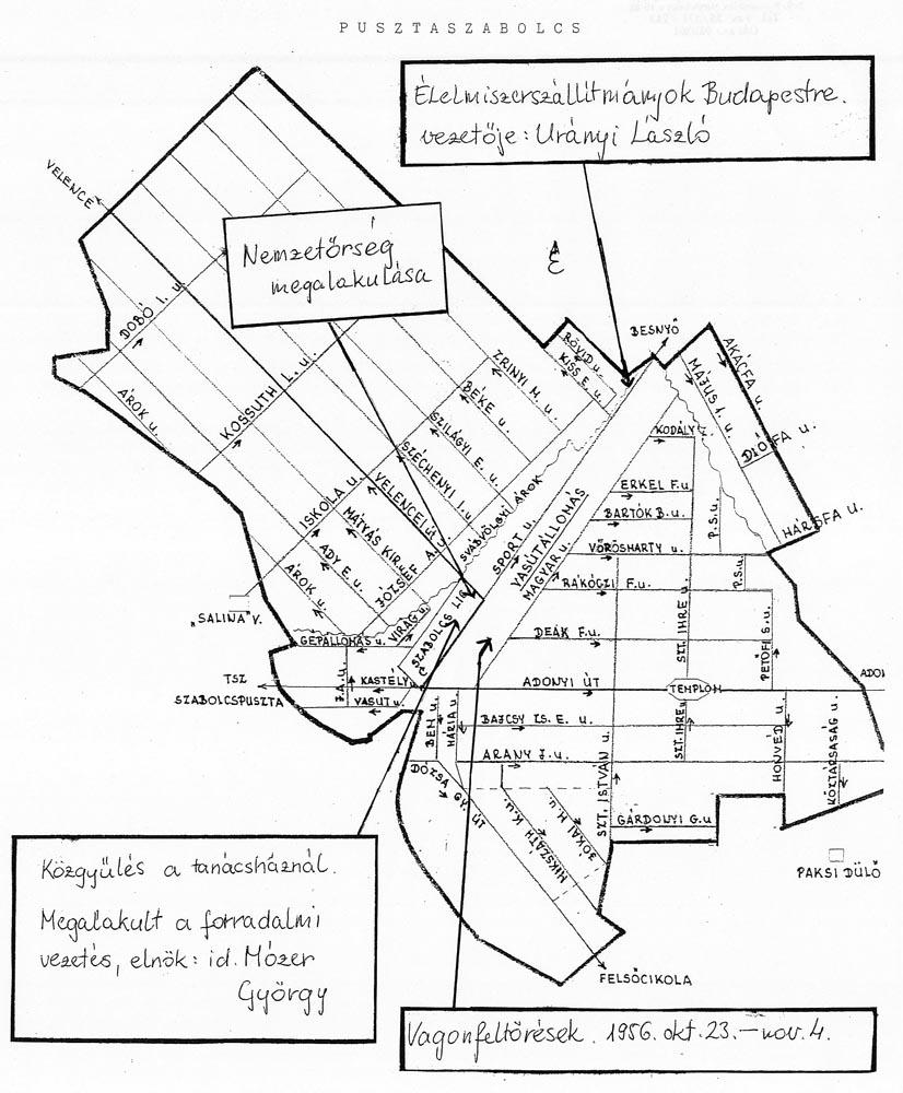 pusztaszabolcs térkép Gyermekrajzpályázat, 1956 pusztaszabolcs térkép