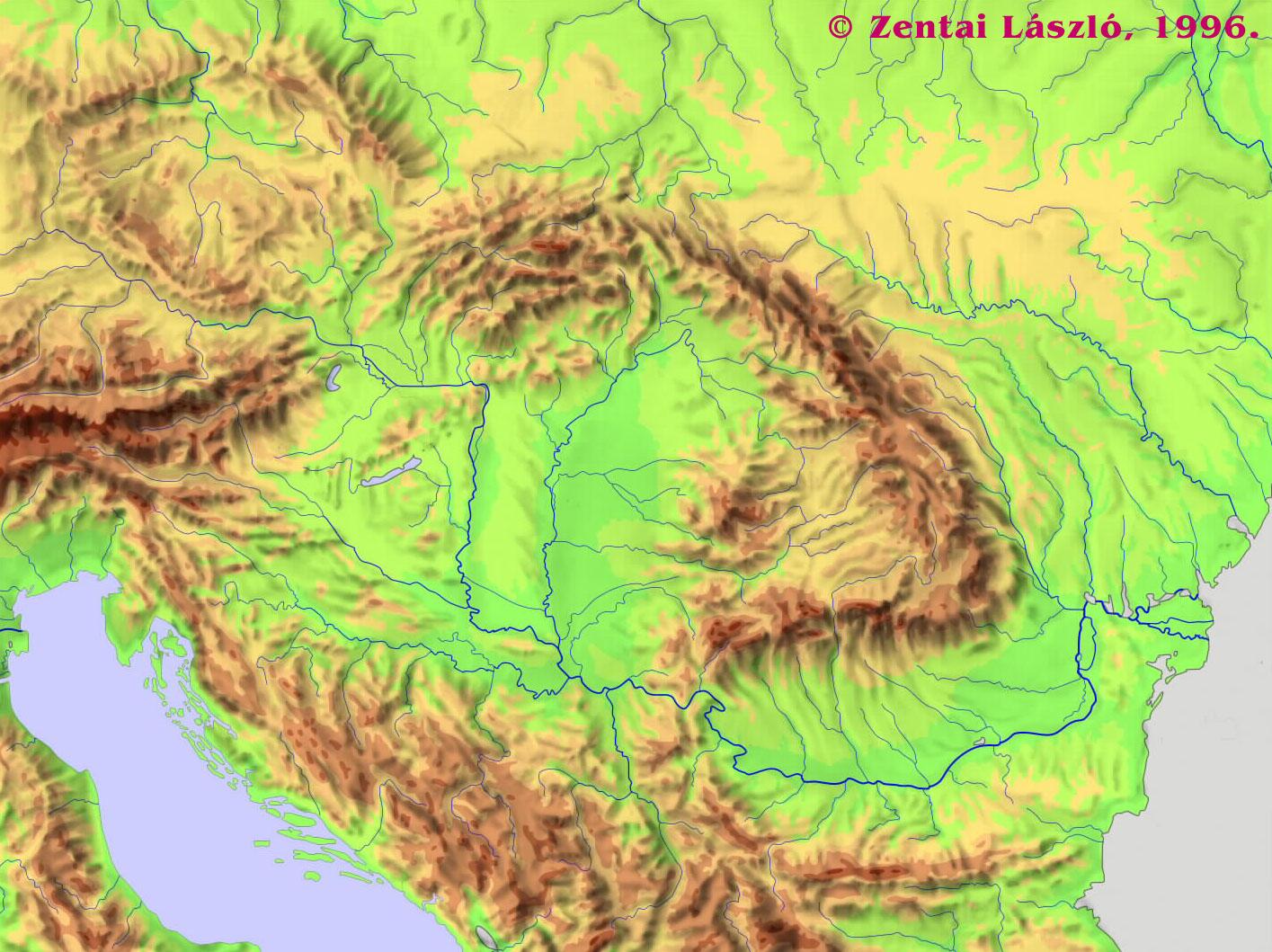 kárpát medence térkép Térképek Magyarország tágabb környezetéről kárpát medence térkép