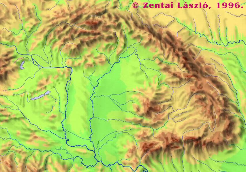 kárpát medence domborzati térkép Térképek Magyarország tágabb környezetéről kárpát medence domborzati térkép